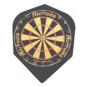 Dartflights Harrows Quadro Dart Board