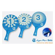 Bordtennisracketar T3 Pingis T3b Racketset 3-pack Mini