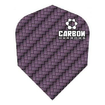 Dartflights Harrows Carbon Purple