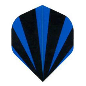 Dartflights Spelbord Poly Royal Classic Black And Blue