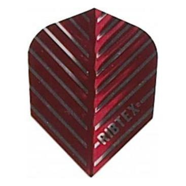 Dartflights Designa Ribtex Red