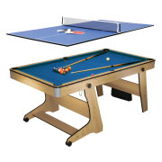 Biljardbord Hobby BCE Folding Pool Plus Bordtennisskiva
