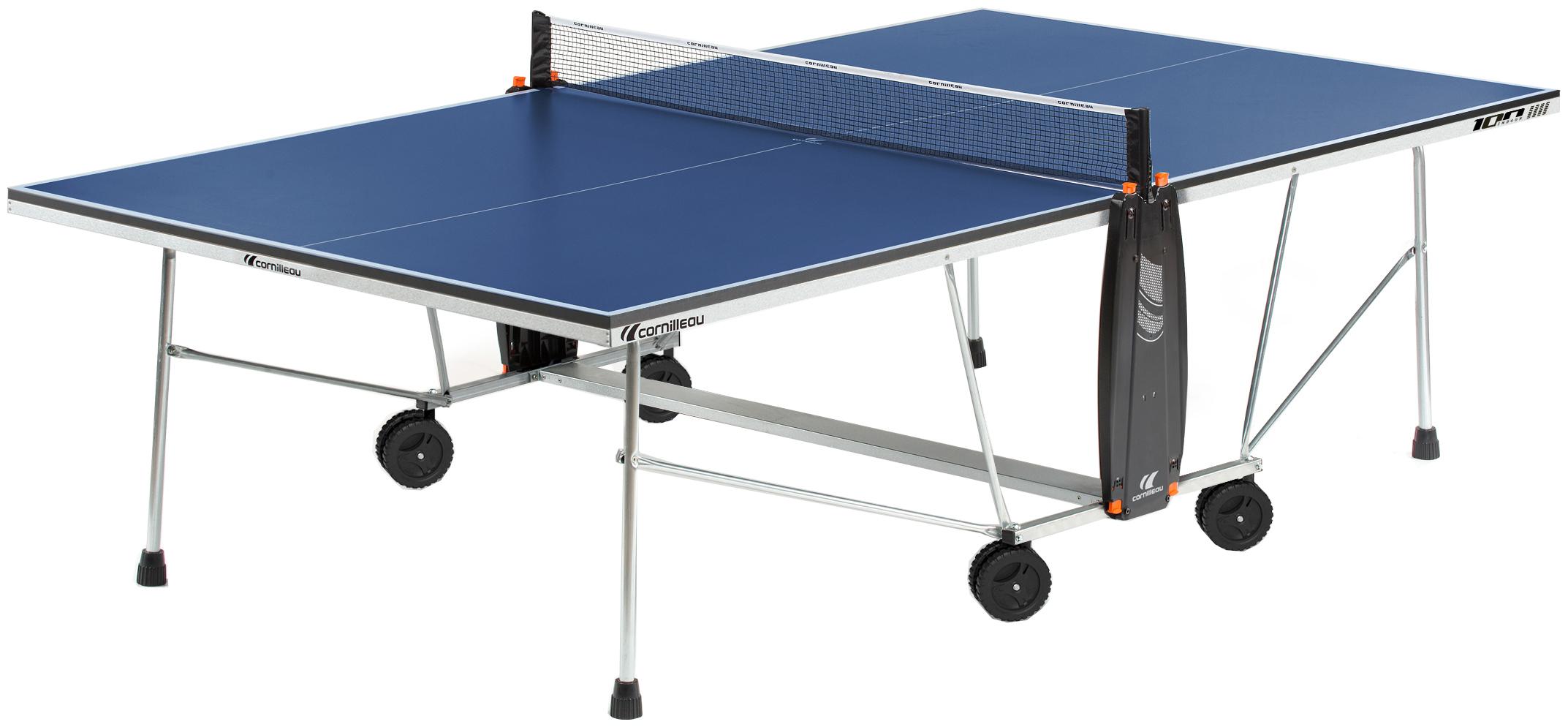Bordtennisbord pingisbord cornilleau sport 100 indoor - Table ping pong exterieur cornilleau ...