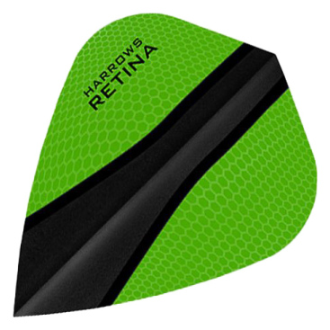 Dartflights Harrows Harrows Retina-x Kite Green