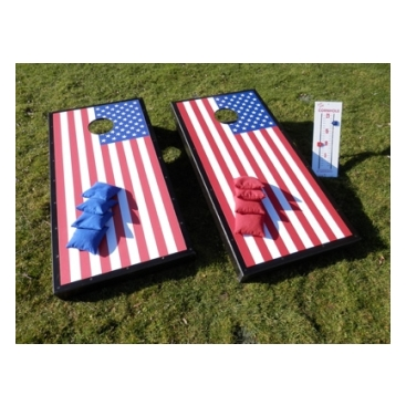 Cornhole Norfolk Boards Deluxe Set Us