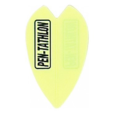 Dartflights Pentathlon Vortex Mini Yellow