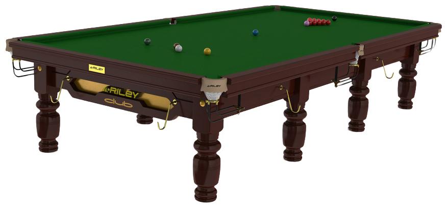 Snookerbord Riley Club Mahogany 8 fot