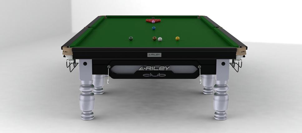 Snookerbord Riley Club Silver 8 fot