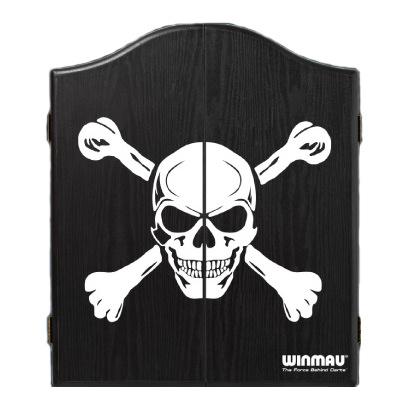 Winmau Dartskåp Black with Skull