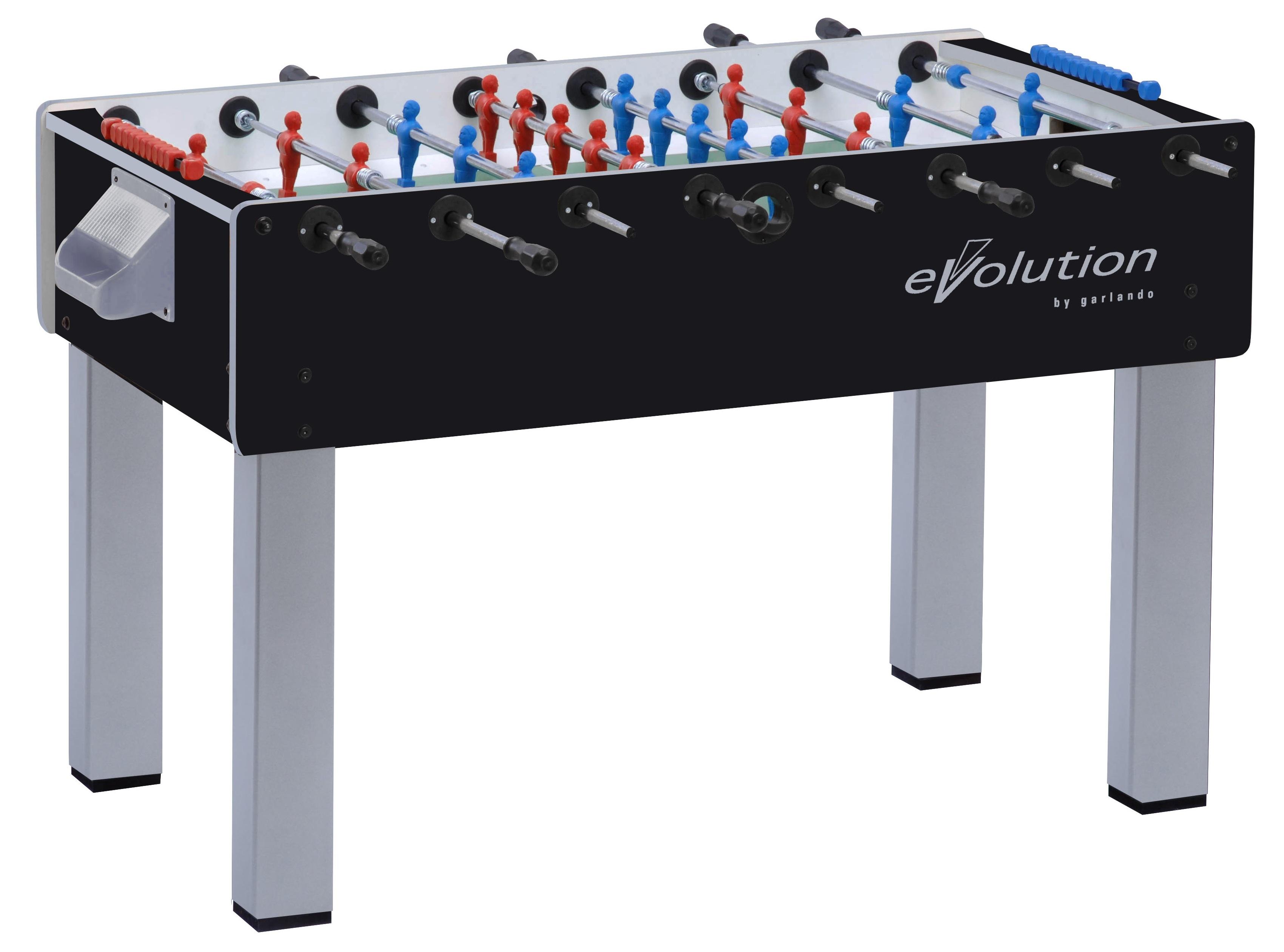 Foosball/Fotbollsspel Garlando F200 EVO Genomgående