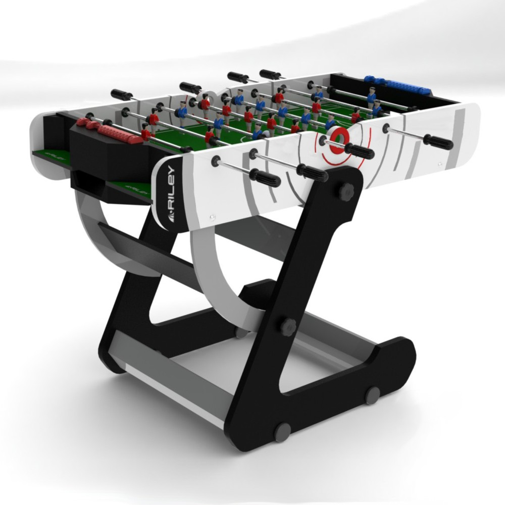 Foosball/Fotbollsspel Riley Folding VR-90 4 fot