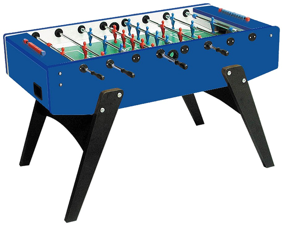 Foosball/Fotbollsspel Garlando G-2000 Blue Genomgående
