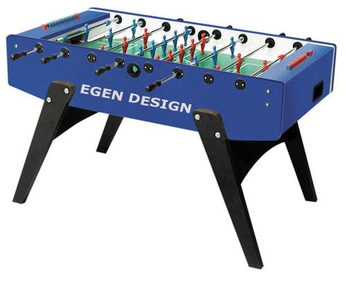 Foosball/Fotbollsspel Garlando G2000 Egen Design 1 bord - Egen Design