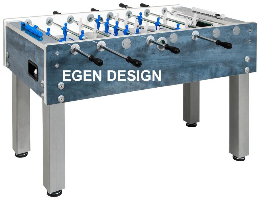 Foosball/Fotbollsspel Garlando G500 Weatherproof Egen Design 1 bord - Egen Design