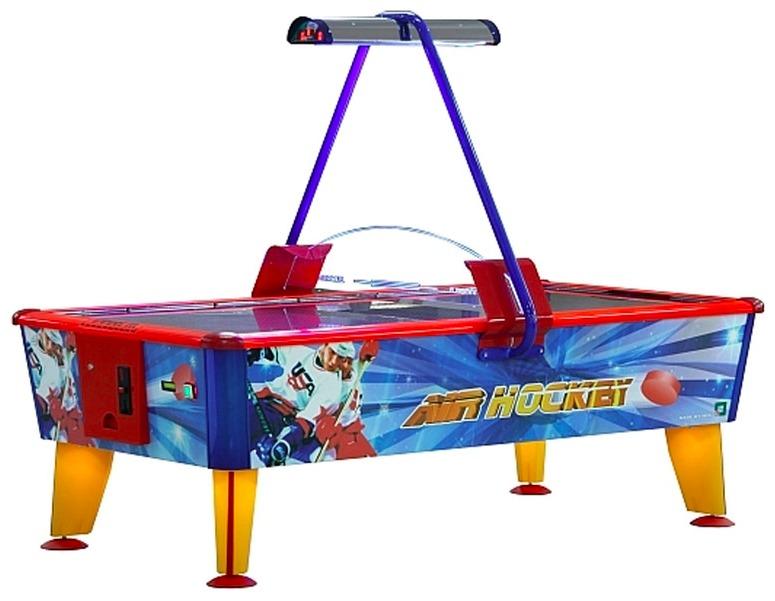 Airhockey Licensierad Produkt Gold Arcade