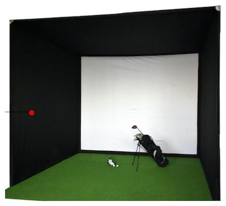 Licensierad Produkt Golfsimulator Box 3(b) x 3(h) x 3(d) m
