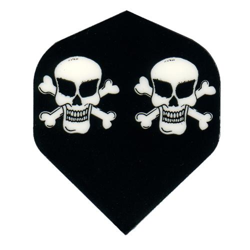 Dartflights Designa Metronic Two Skulls 3-pack
