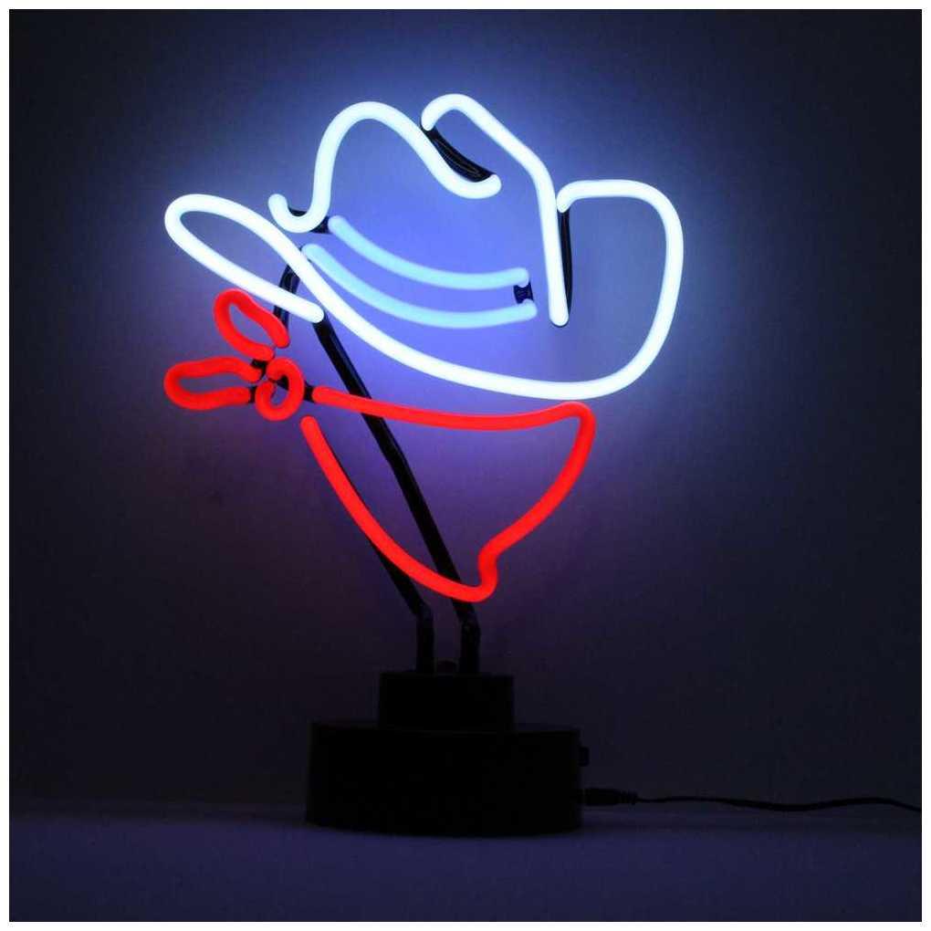 Licensierad Produkt Neonskulptur Cowboy