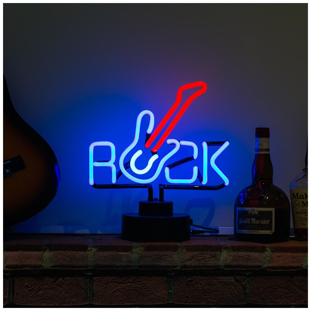 Licensierad Produkt Neonskulptur Elgitarr