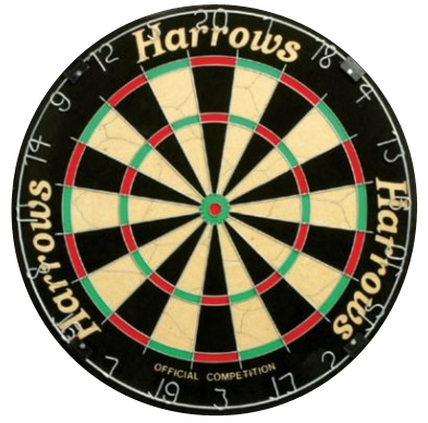 Darttavla Harrows Official Competition