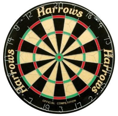 Darttavla Harrows Official Competition