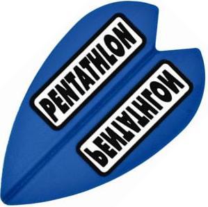 Dartflights Spelbord Pentathlon Vortex Mini Blue 3-pack