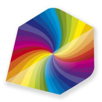 Dartflights Unicorn Specialist Holographic Rainbow Metalic 3-pack