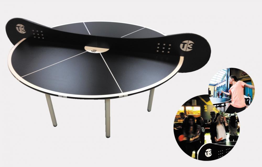 Bordtennisbord T3 Pingis T37 Indoor