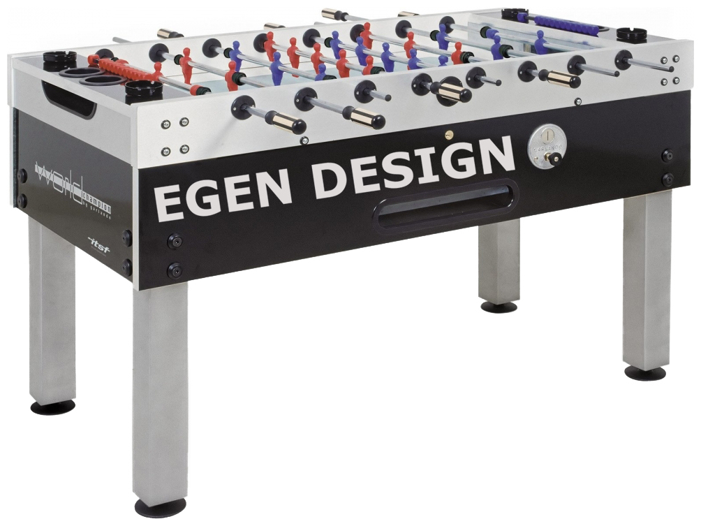 Foosball/Fotbollsspel Garlando World Champion Egen Design 1 bord - Egen Design